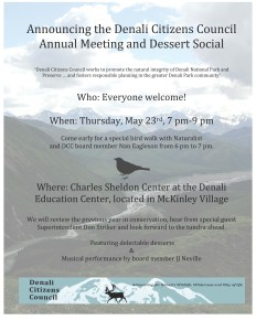 Annual Meeting and Dessert Social