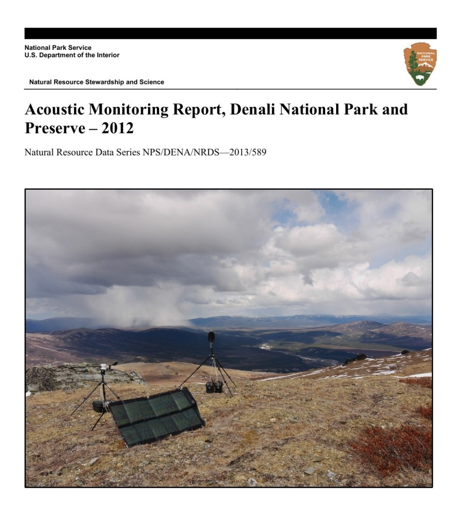 NPS Publishes 2012 Acoustical Monitoring Report