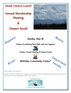 DCC Annual Meeting Sunday May 18