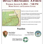 Wildlife Forum, August 5th